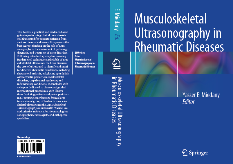 June 2015: Dr. El Miedany's new book on Musculoskeletal US in Rheumatic diseases. Publisher Springer